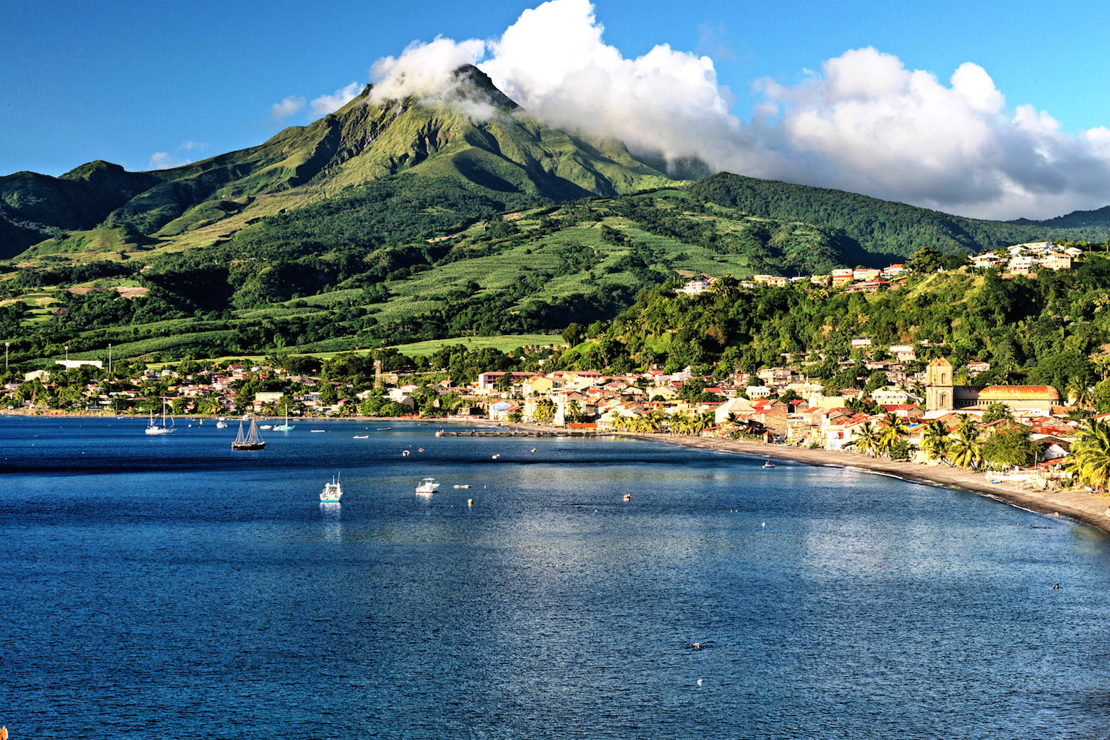 FOR TRAVEL -- baie de st pierre -- Martinique - PHOTO CREDIT: David Giral